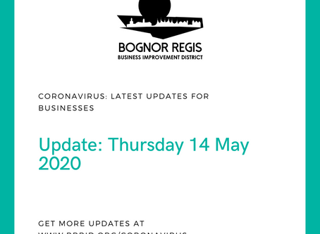 BR BID Coronavirus Update: Thursday 14 May 2020