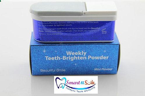 Weekly Teeth Brighten Tooth Powder