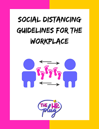 Policy: Social Distancing @ Work