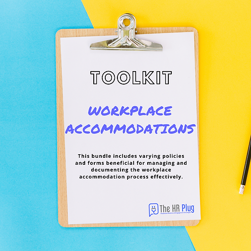 Toolkit: Workplace Accommodations