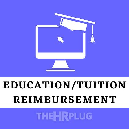 Policy & Form: Educational Reimbursement