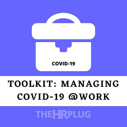 Toolkit: Managing COVID-19 At Work