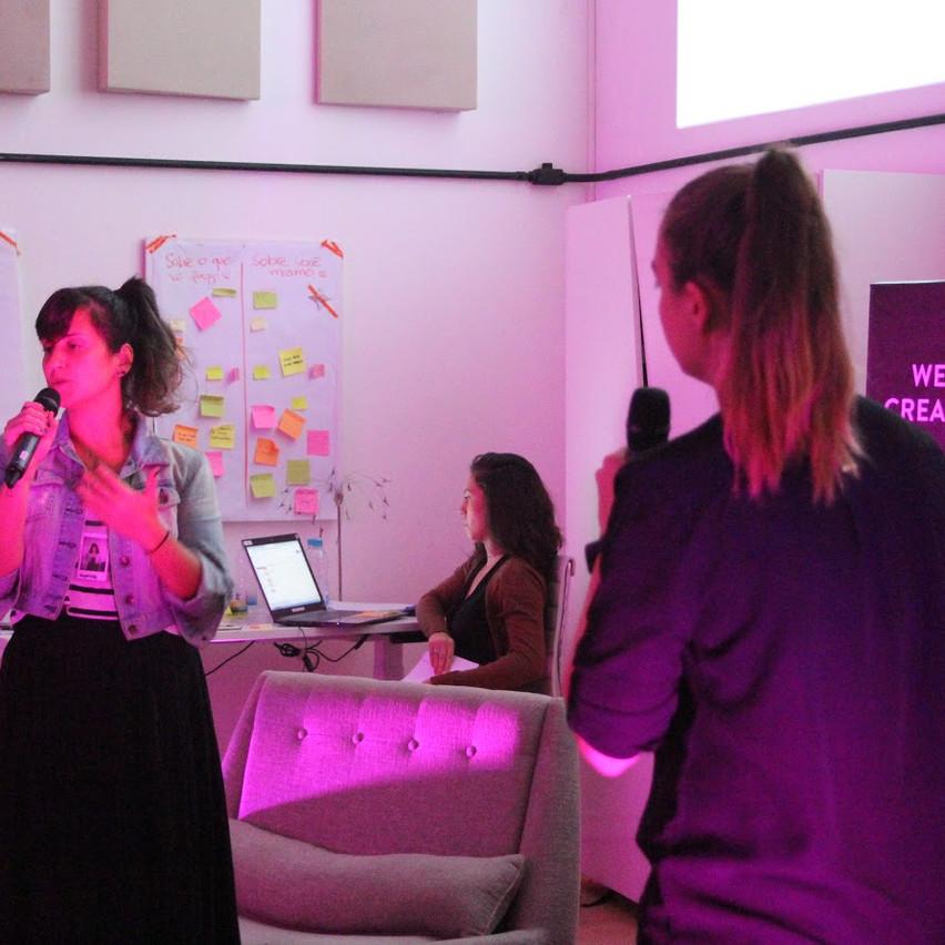 demo day : apresentação do pitch do projeto