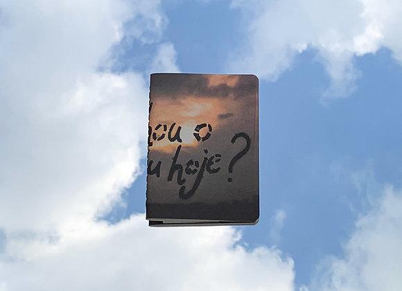 já olhou o céu hoje? | caderninho