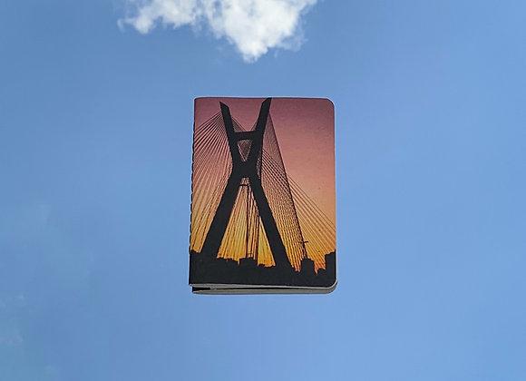 ponte estaiada | caderninho
