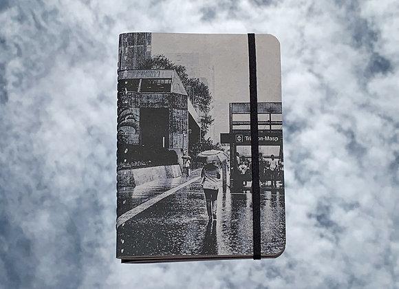 av. paulista na chuva | caderno