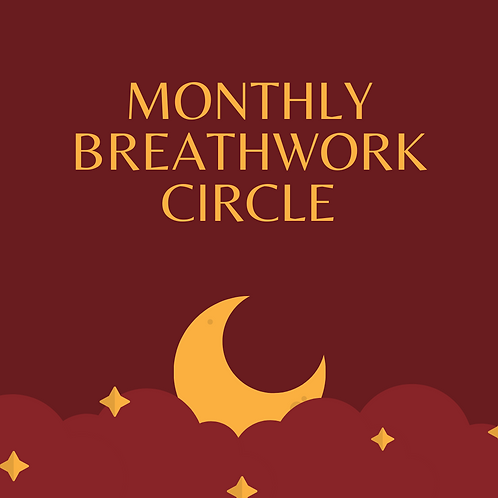 Monthly Virtual Breathwork Circle