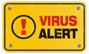 virus alert for facebook