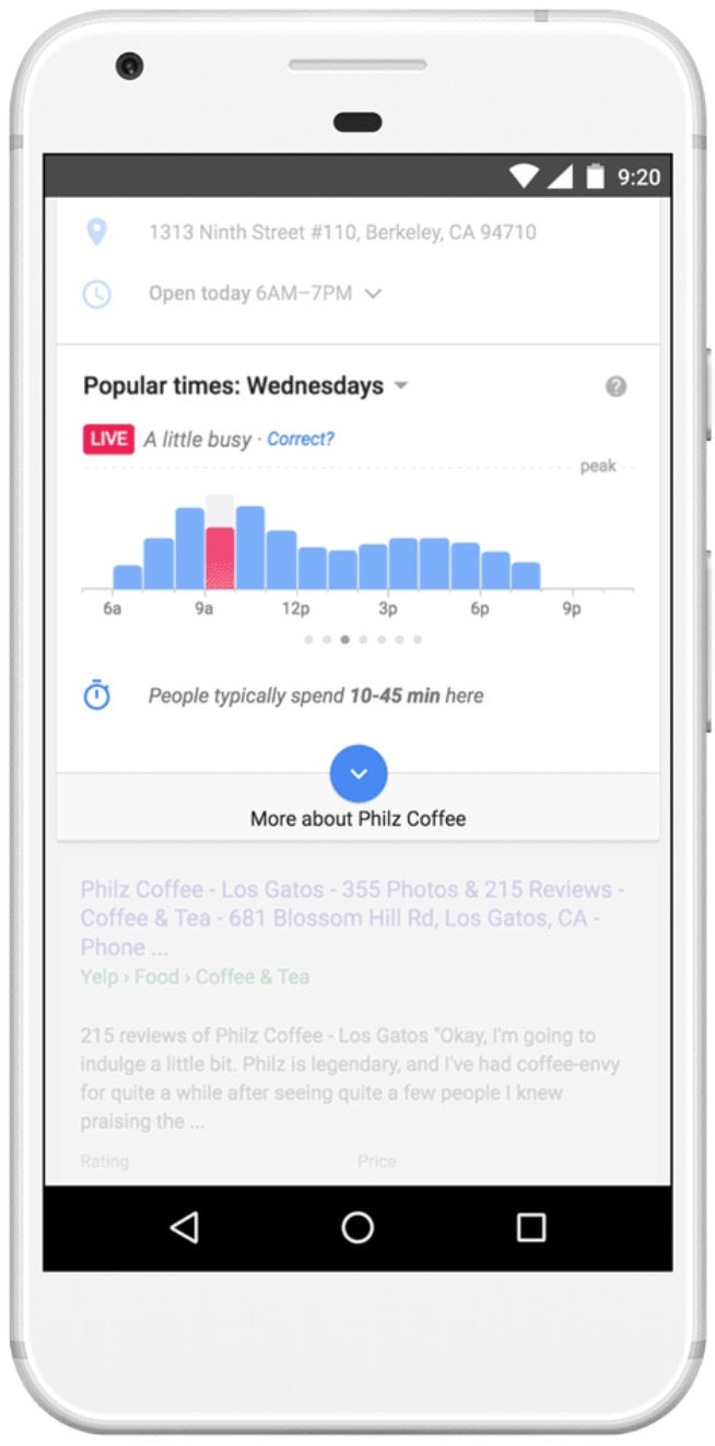 manage time with google maps