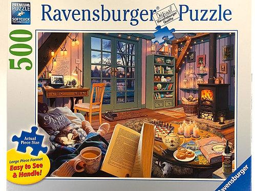 """""""Cozy Retreat"""" Jigsaw Puzzle"""