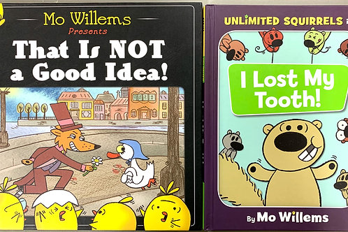 Mo Willems Book Stack