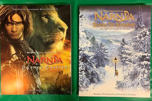 """Narnia"" Book Stack"