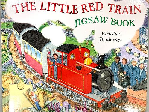 """Little Red Train"" Jigsaw Book by Benedict Blathwayt"