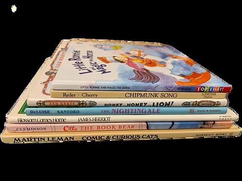 Preschooler Animal Assortment Book Stack