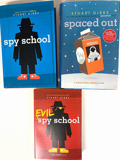 "Grades 2 - 3 ""Spy School"" Book Stack"