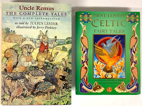 """Grades 4 - 5 """"Uncle Remus"""" Book Stack"""