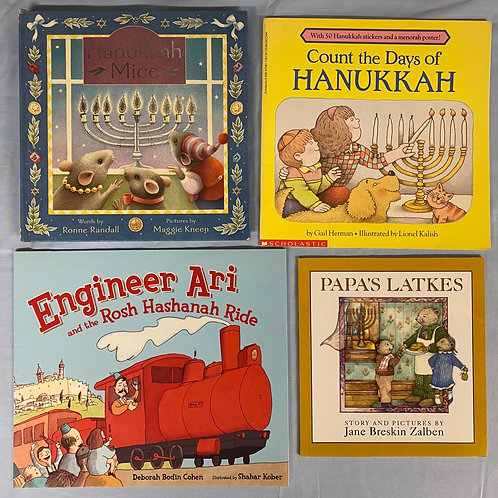 "Preschooler ""Hanukkah Mice"" Book Stack"