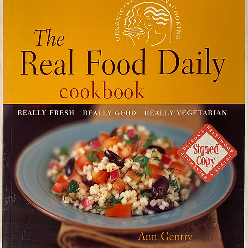 The Real Food Vegetarian Cookbook