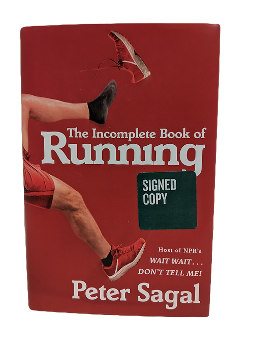 """The Incomplete Book of Running"" (signed)"