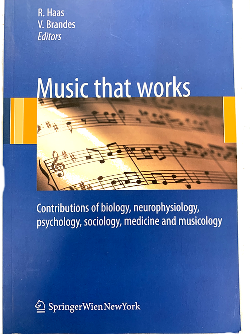 Music That Works  edited by Haas & Brandes