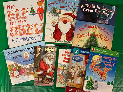 "Preschooler ""Elf"" Book Stack"