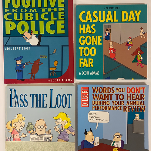 """""""Pass the Loot"""" Humor Book Stack"""