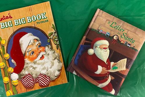 """Grade K """"Letter to Santa"""" Book Stack"""