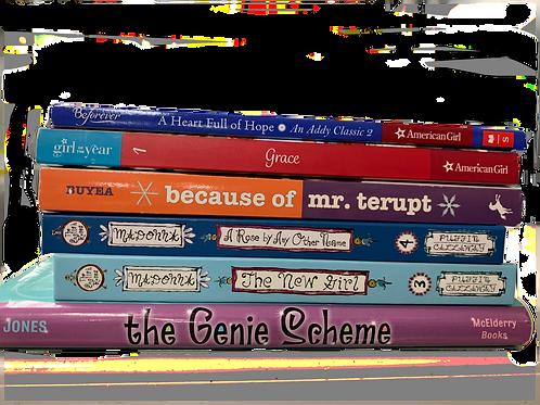 "Grade 3 ""AG Addy"" Book Stack"