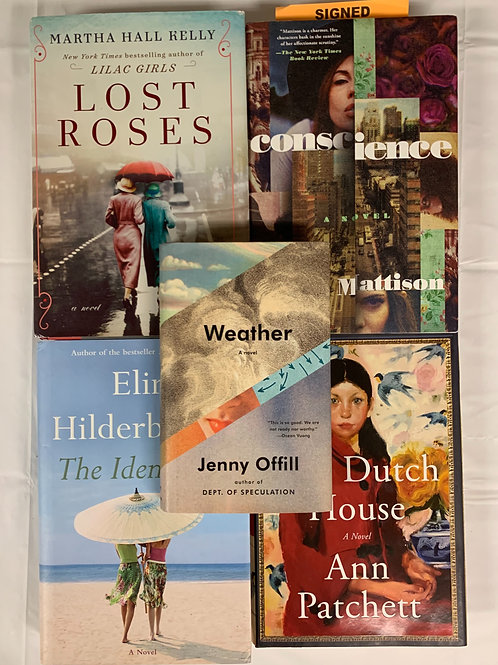 """""""Weather"""" Fiction Book Stack"""