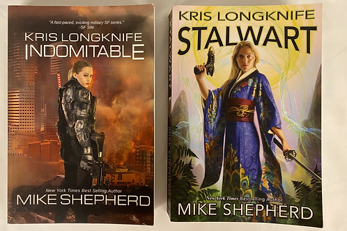 """Kris Longknife"" SciFi Book Stack"