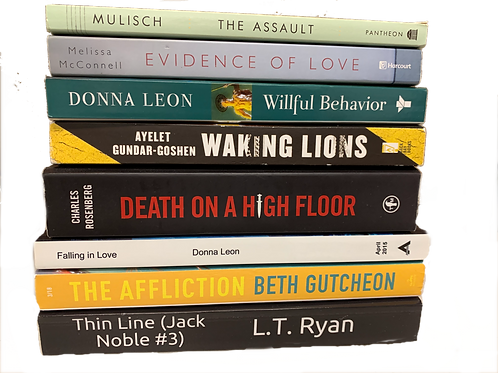 """""""The Assault"""" Mystery Book Stack"""
