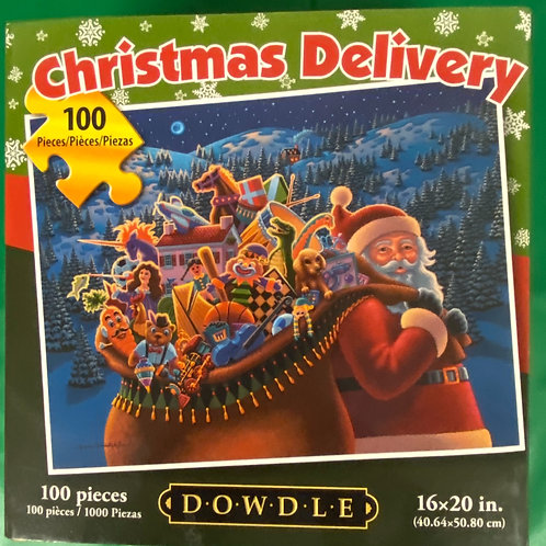 """Christmas Delivery"" Jigsaw Puzzle"
