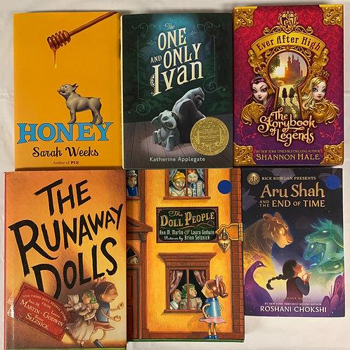 """Grade 3 """"Aru Shah"""" Book Stack"""