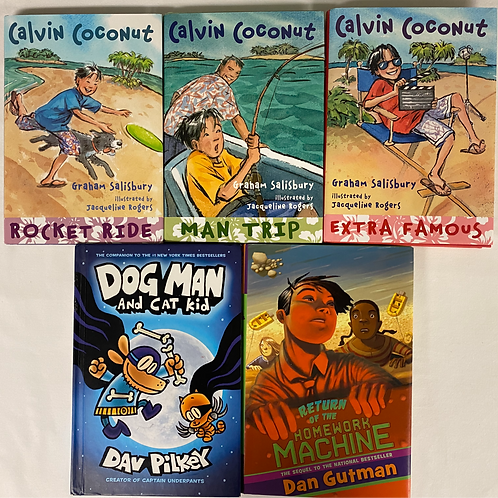 "Grade 3 ""Calvin Coconut"" Book Stack"