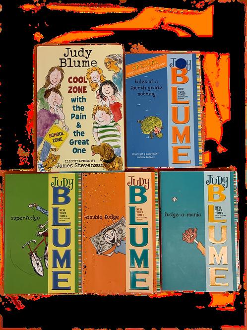 Grade 3 Judy Blume Book Stack