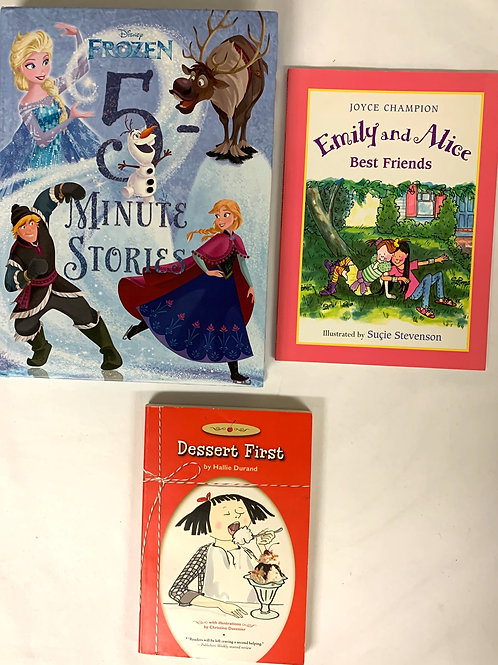 """Grades K - 1  """"Emily and Alice"""" Book Stack"""