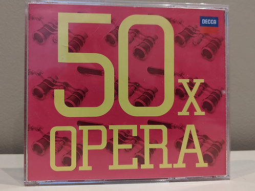 50x Opera CDs