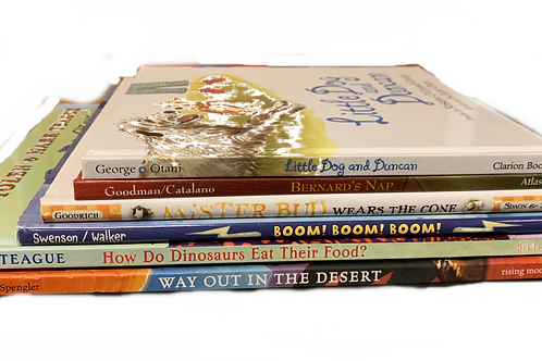 "Preschooler ""Little Dog"" Book Stack"