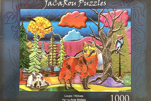 """""""Wolves"""" Jigsaw Puzzle"""