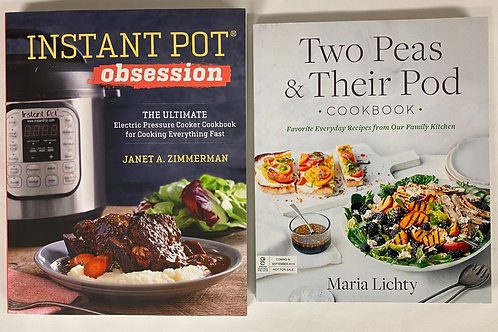 Instant Pot Cookbook Stack