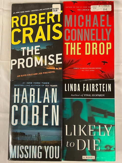 """""""The Promise"""" Mystery Book Stack"""