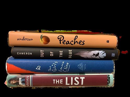 "Teens ""Peaches"" Book Stack"