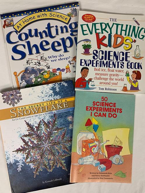 Grade 3 Snowflake Secrets Book Stack