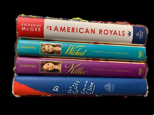 "Teens ""American Royals"" Book Stack"