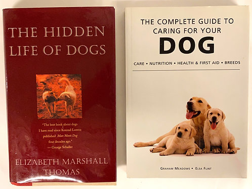 """The Hidden Life of Dogs"" Book Stack"