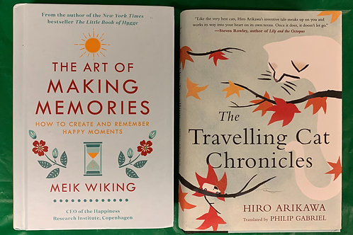 """""""Memories"""" Book Stack"""