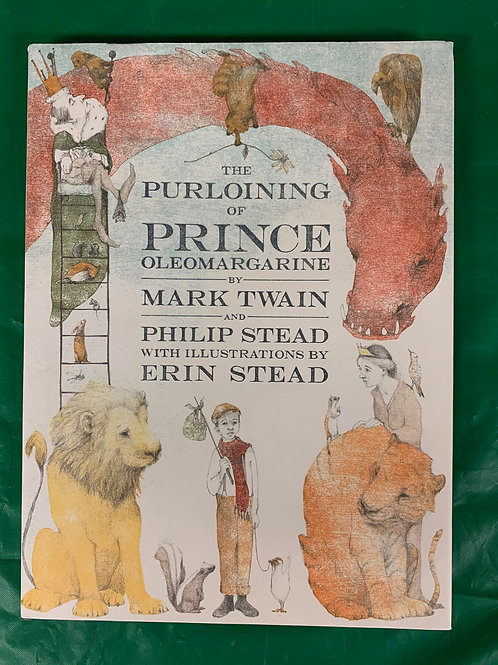 "Grade 4  Mark Twain's ""Prince Oleomargarine"""