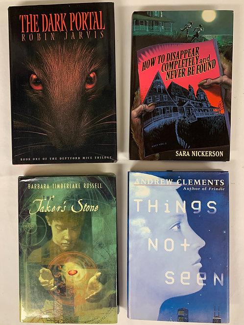"""Middleschooler """"Dark Portal"""" Book Stack"""