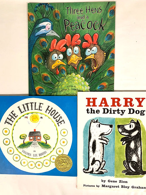 "Preschooler ""Harry the Dirty Dog"" Book Stack"