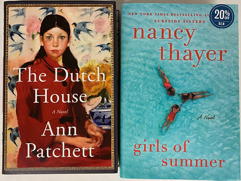 """Girls of Summer"" Fiction Book Stack"